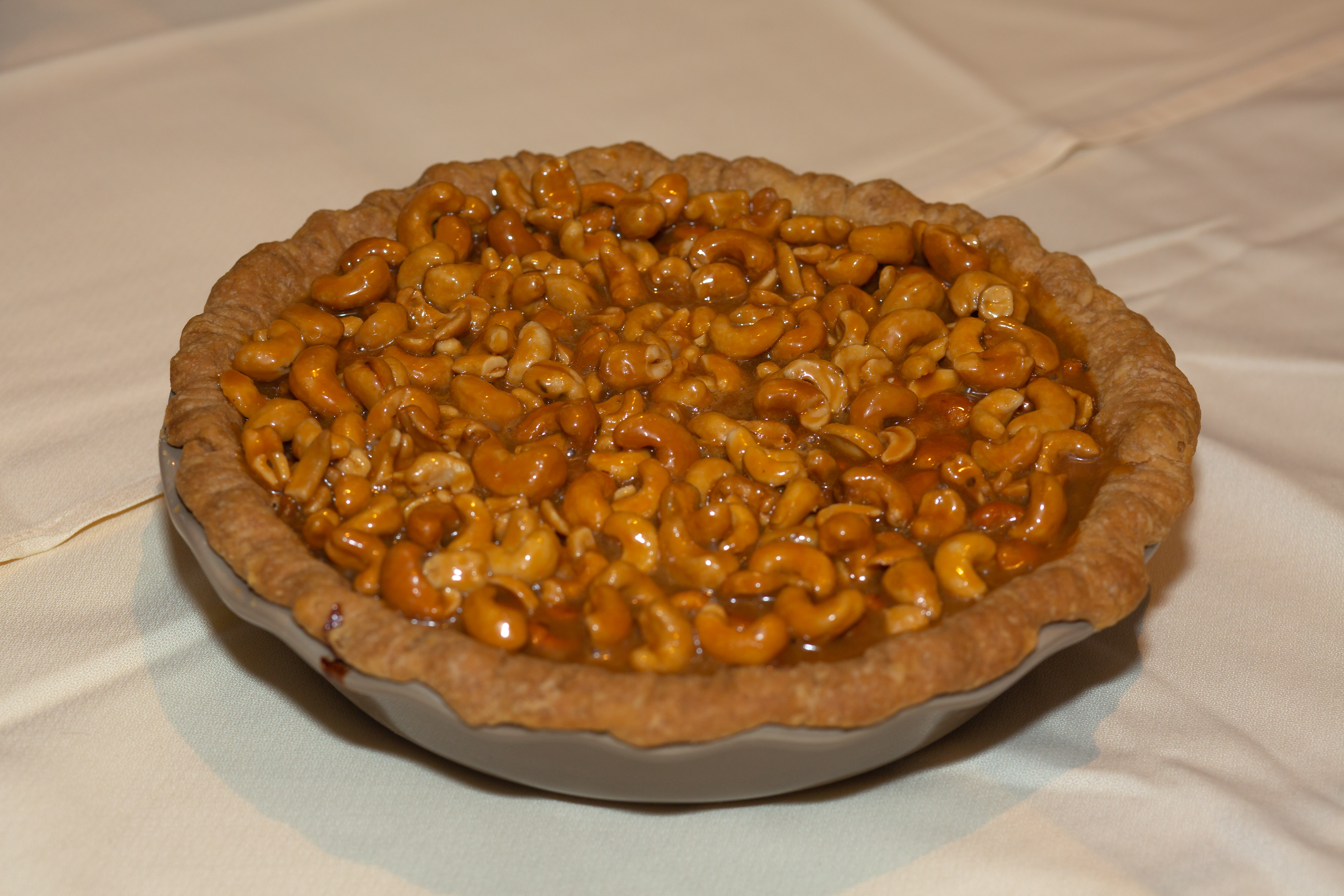 2019 1st Place Professional Nut Oh Honey Butter Up Your Cashew Pie, Lisa Sparks, Atlanta, IN